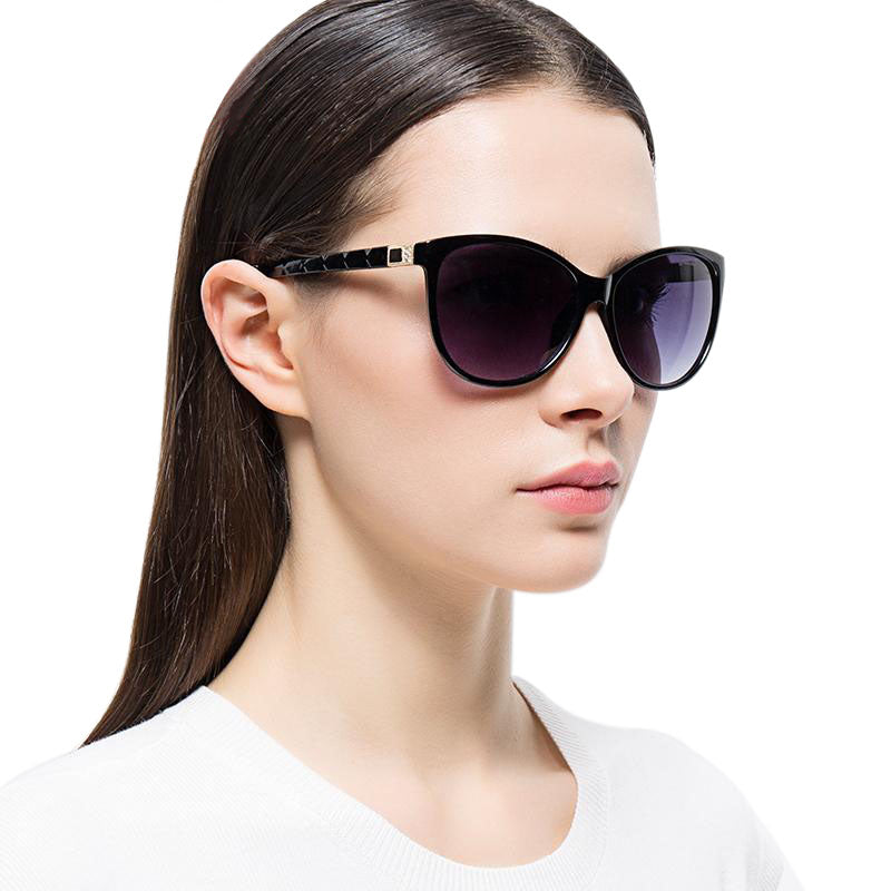 Female Retro Style Cat eye Sunglasses for Women 53MM F5105 - FEUZY