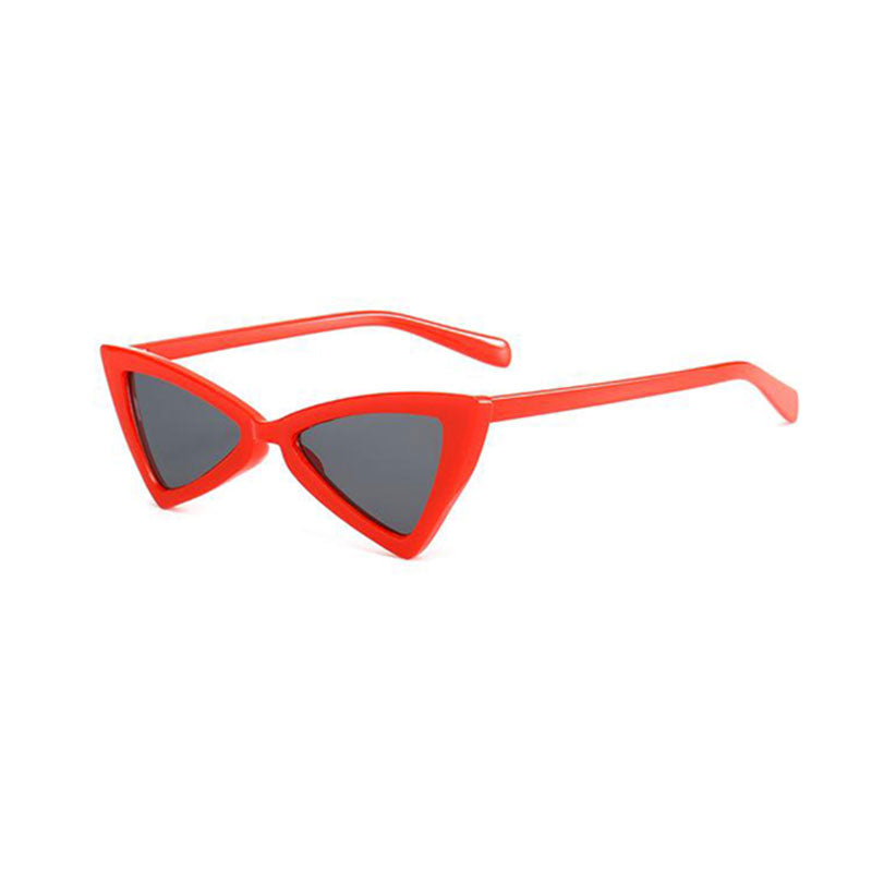 Triangle Small Size Modern Cat Eye Women Sunglasses/Shades - FEUZY