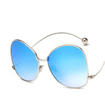 Luxury Hipster Butterfly Large Frame HD Shades/Sunglasses - F5112 - FEUZY