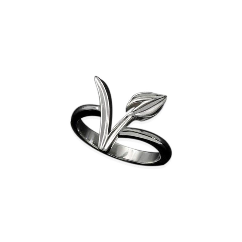 Silver/Gold Plated Vegan Ring - FEUZY