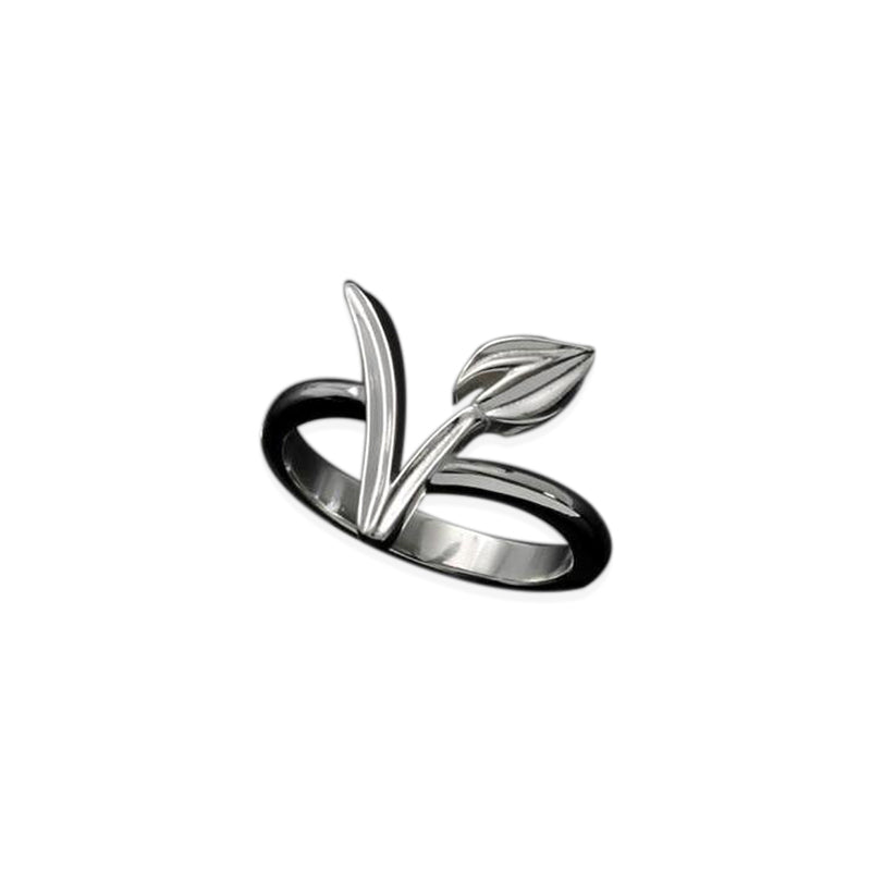 Silver/Gold Plated Vegan Ring