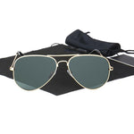 Classic Polarized Metal Frame Women Sunglasses F5106 - FEUZY