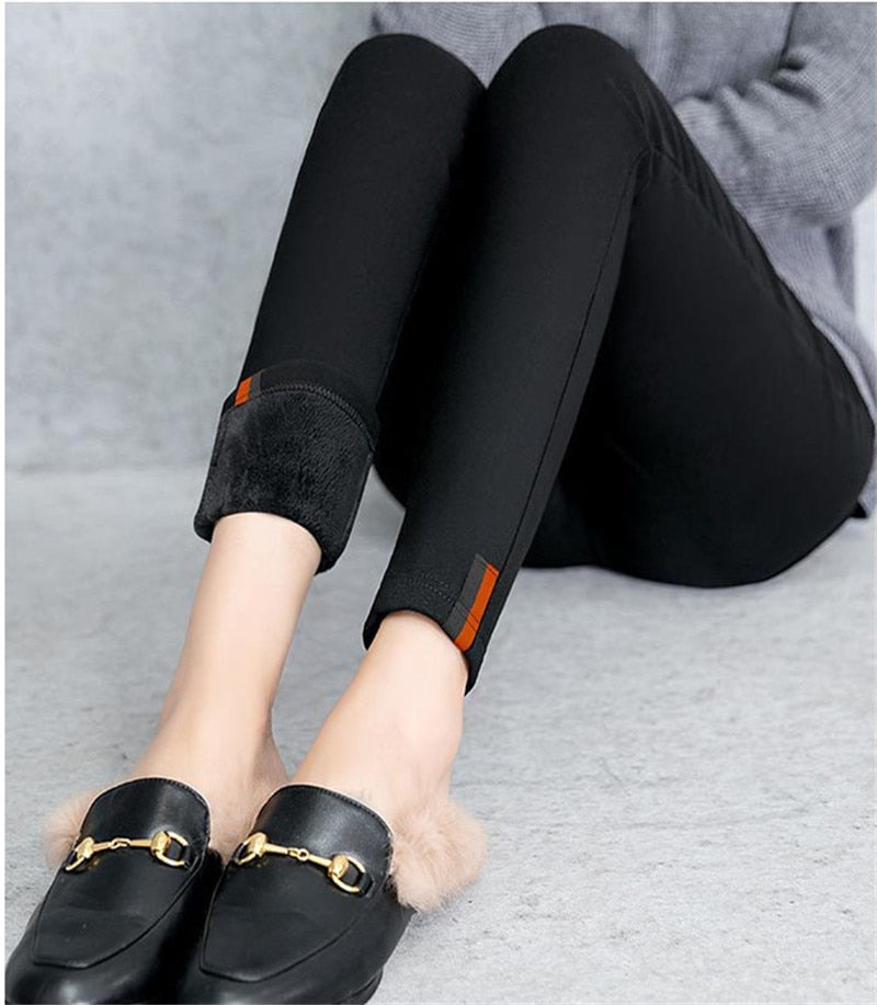 Thick Velvet Warm Fitness Winter Leggings for Women