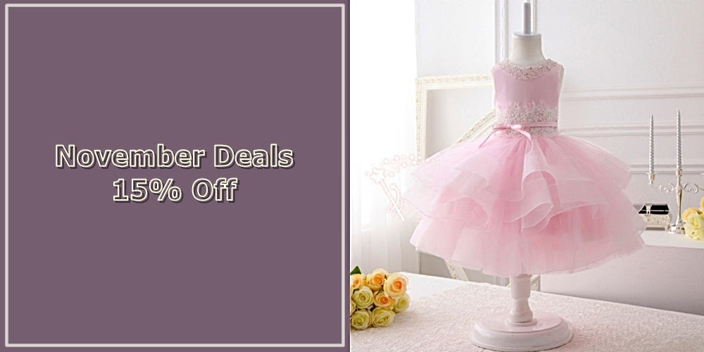 Girly Shop I November Deals 15% Off For Beautiful Floral Gown