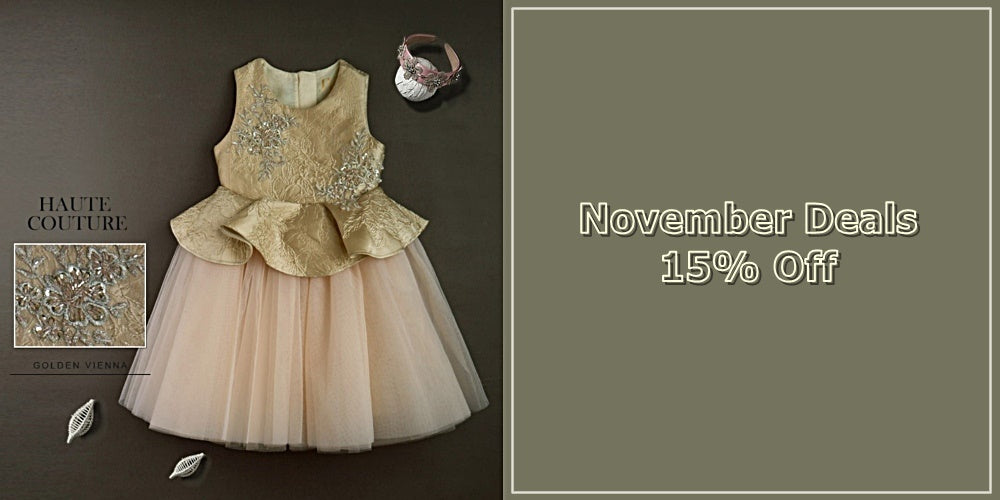 Girly Shop I 15% Off For High Quality Flower Girl Dresses