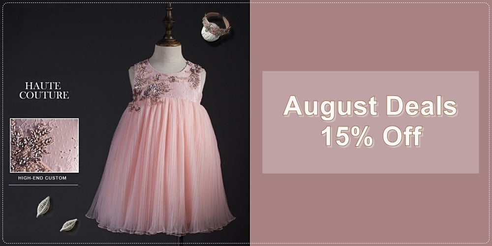 15% Off Haute Couture Junior Flower Girl Dresses
