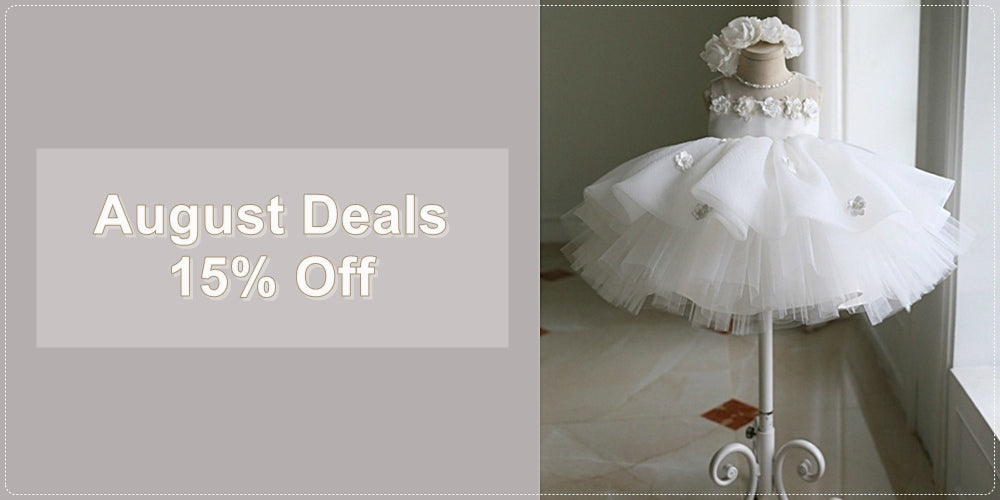 Get 15% Off & Free Worldwide Shipping For All Baptism Gown