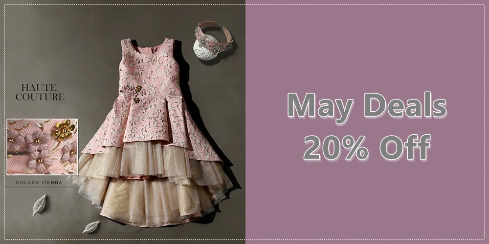 Girly Shop I May Deals 20 % Off Flower Girl Dresses I Free Worldwide Shipping!