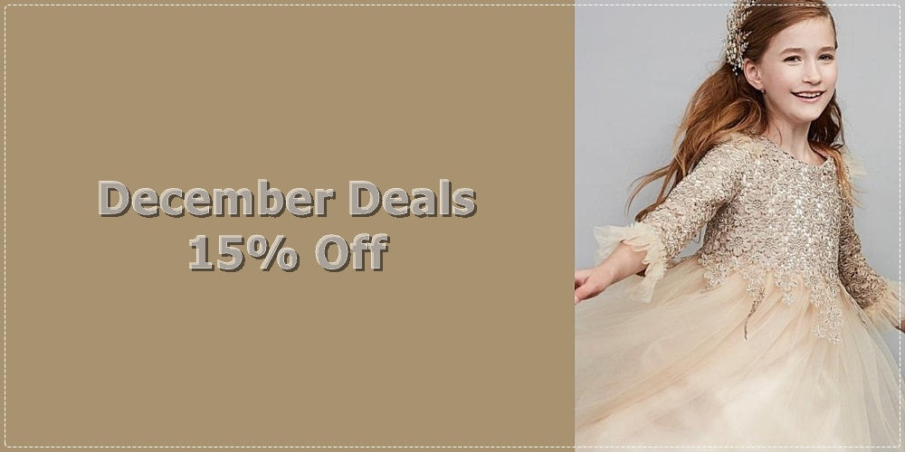 Girly Shop I December 2018 Deals - 15% Off For All Floral Embroidery Children Party Dresses!