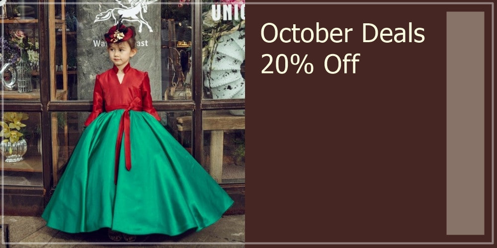 Girly Shop's October Deals 20% Off Beautiful Christmas Dresses