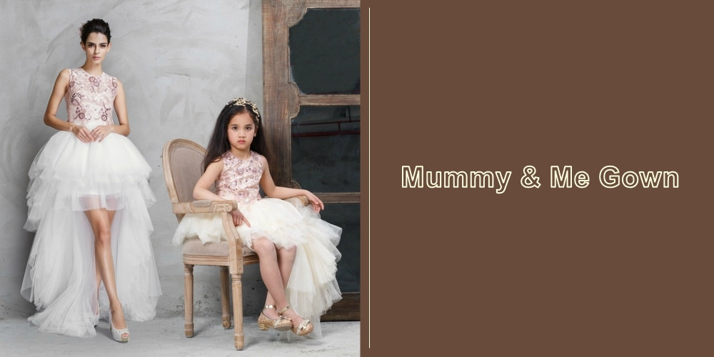 Shop Online High Quality Mother Daughter Party Dress