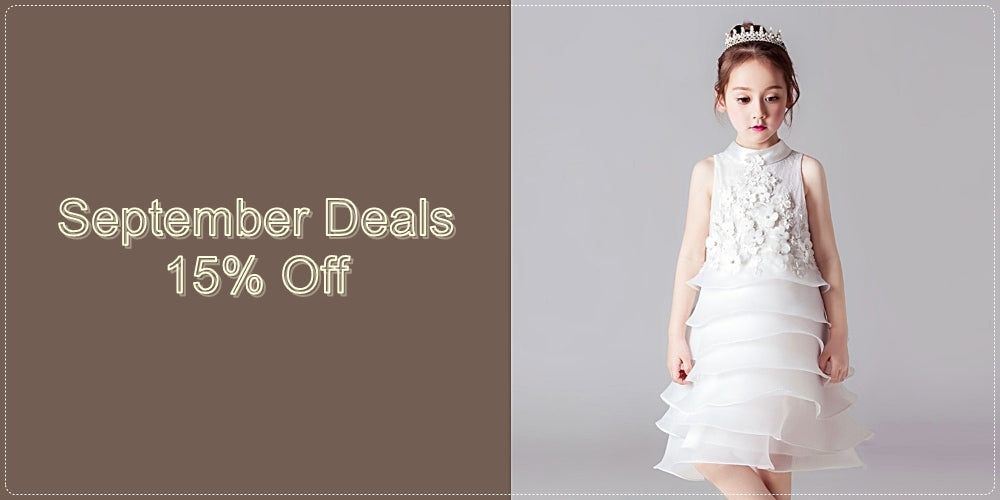 Girly Shop I September Deals Discount 15% For All Beautiful Floral Lace Tiered Dress