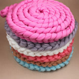 Girly Shop's chunky knit rope blanket