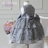 Girly Shop's Gray Lace Dress