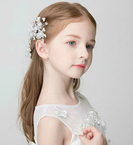 Girly Shop's Flower Girl Hair Pins