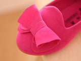 Girly Shop's Fuchsia Suede Shoes