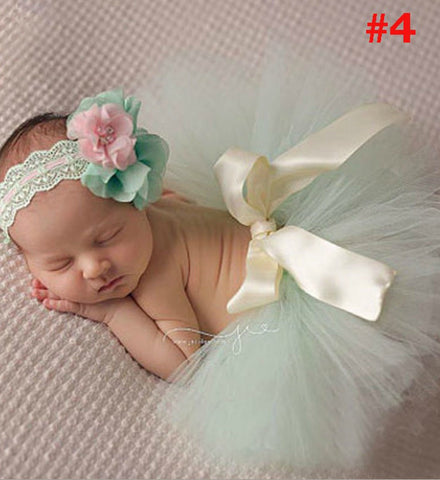 Girly Shop's Mint Tutu Skirt & Headband