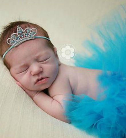 Girly Shop's Turquoise Tutu Skirt & Tiara Headband