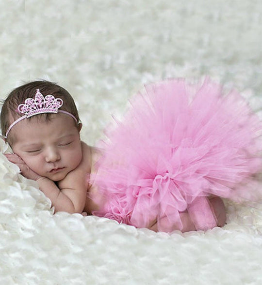 Girly Shop's Pink Tutu Skirt & Tiara Headband