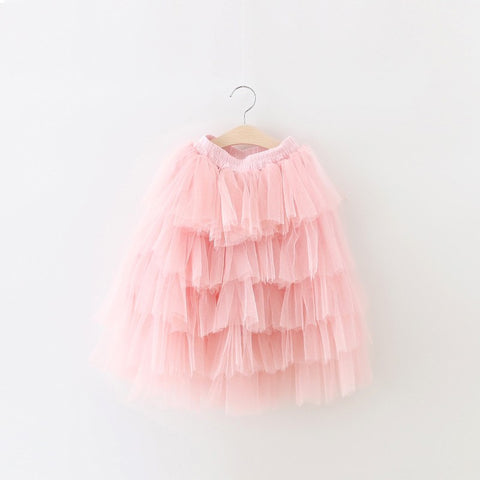 Girly Shop's Light Pink Tiered Flower Girl Dress