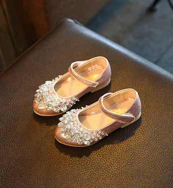 Girly Shop's Light Pink Sparkle Princess Shoes