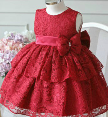Girly Shop's Red Lace Dress