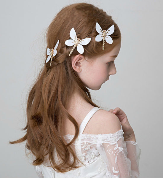 Girly Shop's Butterfly Hair Pins