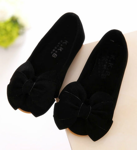 Girly Shop's Black Baby Girl Shoes