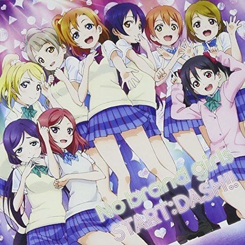 [LACM-14069] Love Live! School Idol Project (TV series) No Brand Girls / START:DASH!! (μ's / Muse) (CD Single)