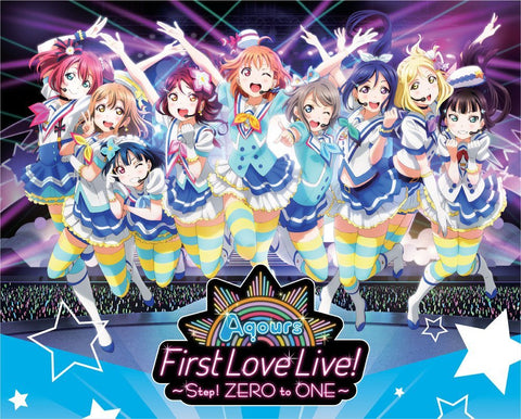 Love Live Sunshine!! Aqours First LoveLive! ~Step! ZERO to ONE~ Blu-ray Memorial BOX