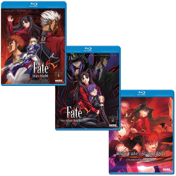 Fate/Stay Night TV and Motion Picture Blu-ray Bundle (Blu-ray)