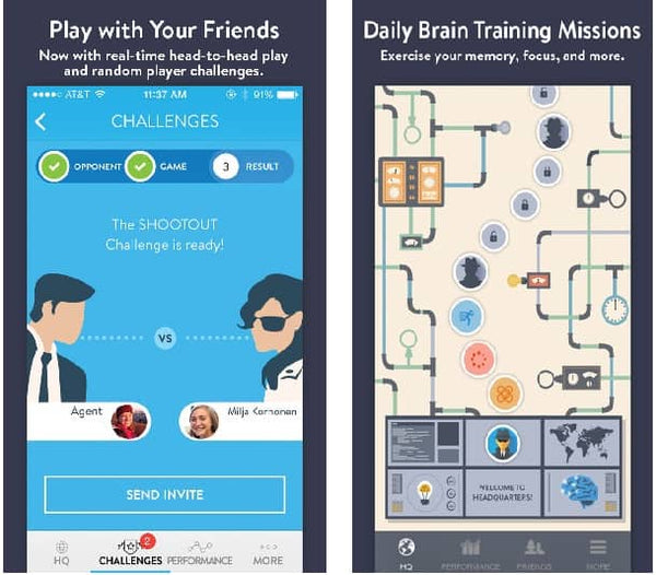 best brain training apps cognito spy-themed game