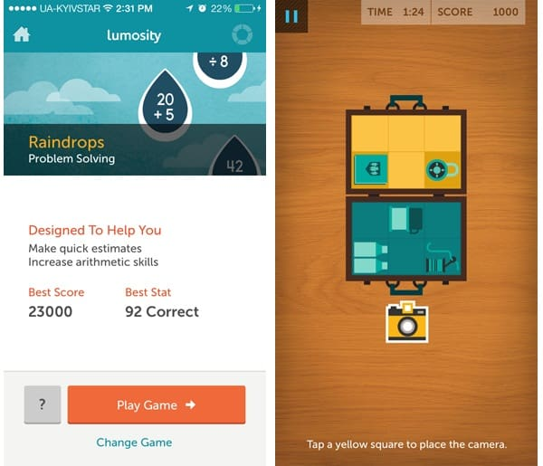 best brain training apps lumosity for general cognitive abilities