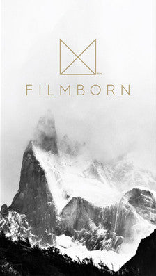 filmborn iphone photography app analogue photography film startup screen
