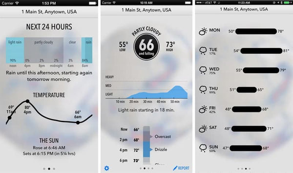 weather app dark sky up-to-the-minute update