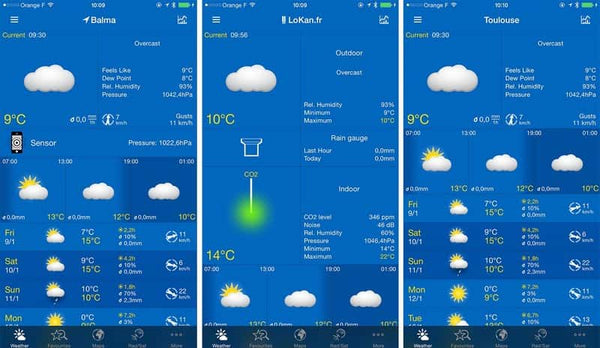 weather app weatherpro for europe