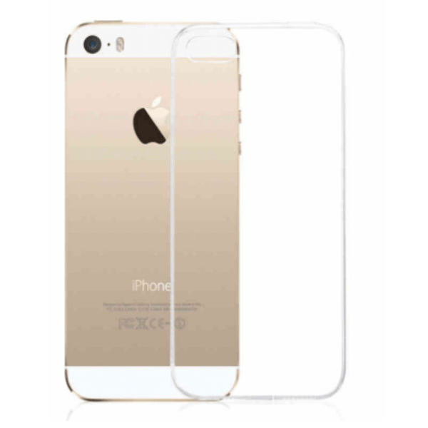 iPhone 5/5s/SE Silicon Thin Case (Transparent)