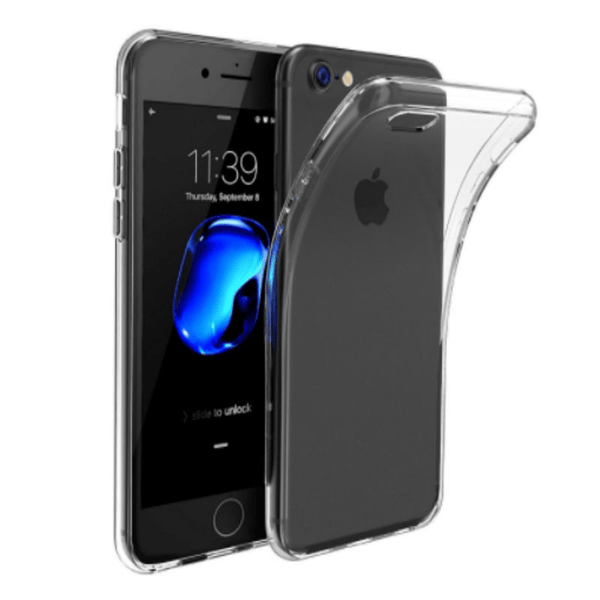 Silicone Thin Case for iPhone 7 (Transparent)