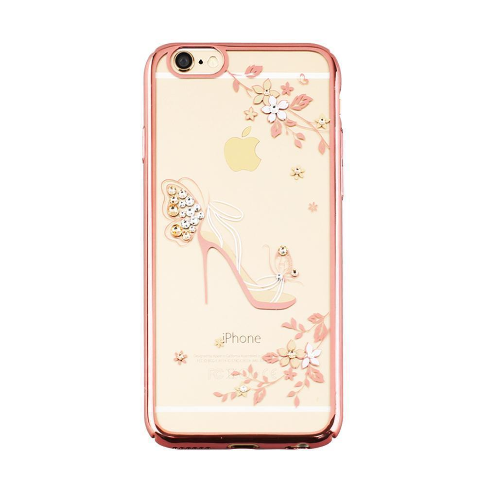 swarovski iphone 6 and 6s case crystal rose gold ndbd ireland. Black Bedroom Furniture Sets. Home Design Ideas