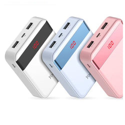 10000mAH Powerful Mini Mobile Portable Charger with LED Display