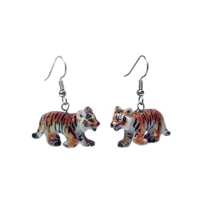 Tiger Cub Earrings