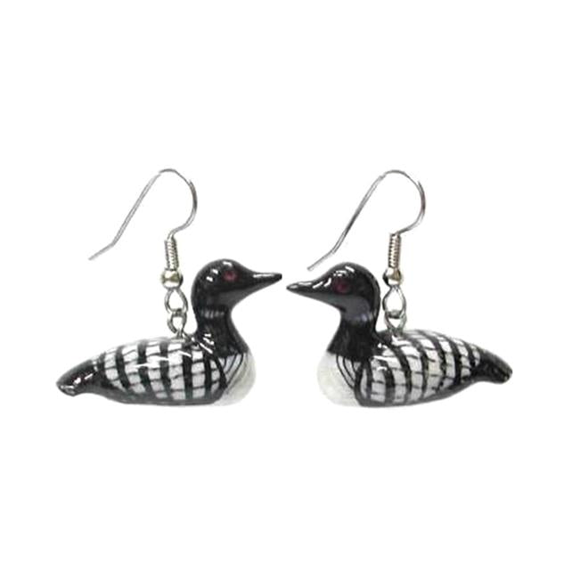 Loon Porcelain Earrings