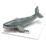 "Whale - Blue Whale Figurine - ""Krill"" - Porcelain Animal FIgurines - Little Critterz, Little Critterz"