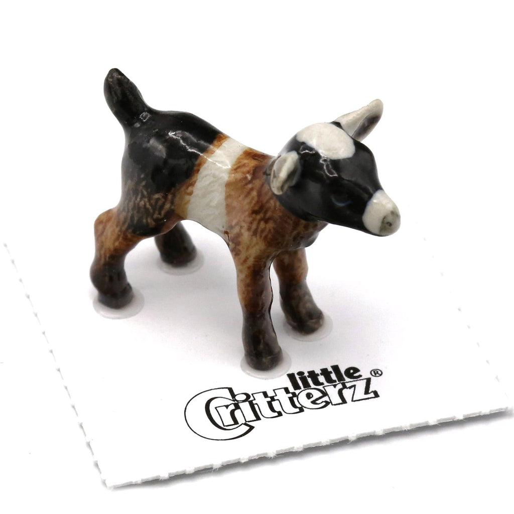 "Goat Kid Figurine - ""Chiumbo"" - Porcelain Animal FIgurines - Little Critterz, Little Critterz"