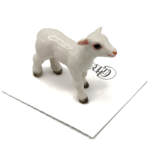 "Lamb - Porcelain Collectible - ""Barley"""