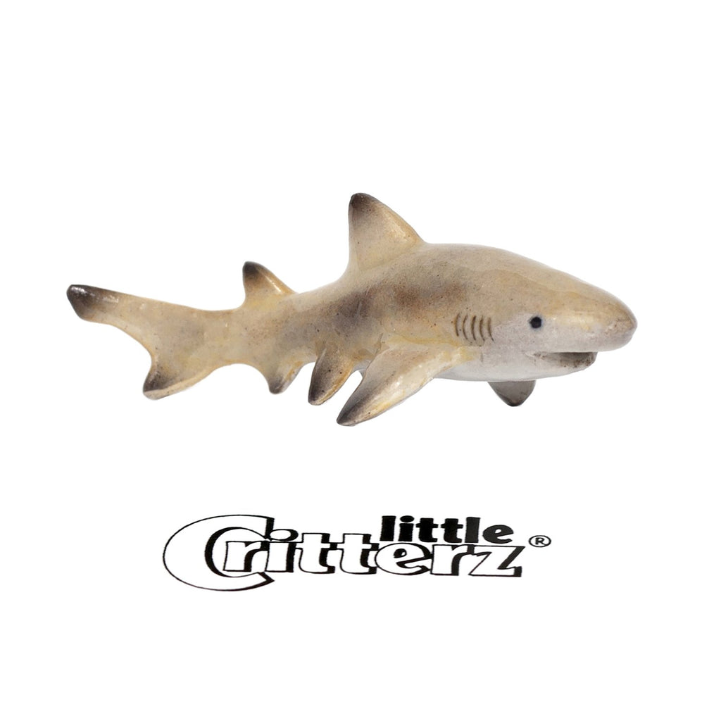 "Lemon Shark""Blondie"" - miniature porcelain figurine"