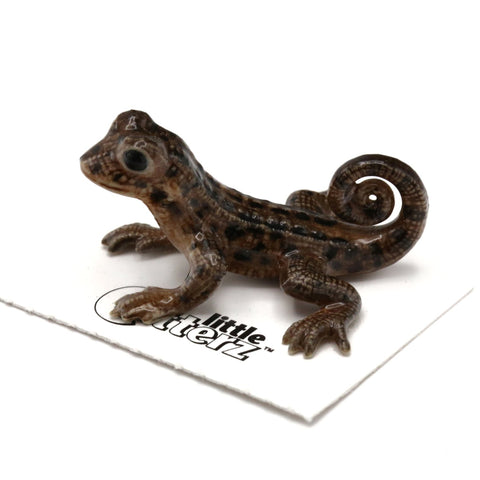 "Lizard - Ceramic Curly-Tailed Lizard ""Whip"""