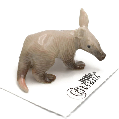 "Anteater - Aardvark Porcelain Minature - ""Ethiopia"" - Porcelain Animal FIgurines - Little Critterz, Little Critterz"