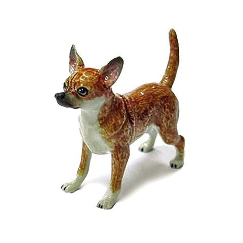 Chihuahua - Porcelain Animal FIgurines - Northern Rose, Little Critterz
