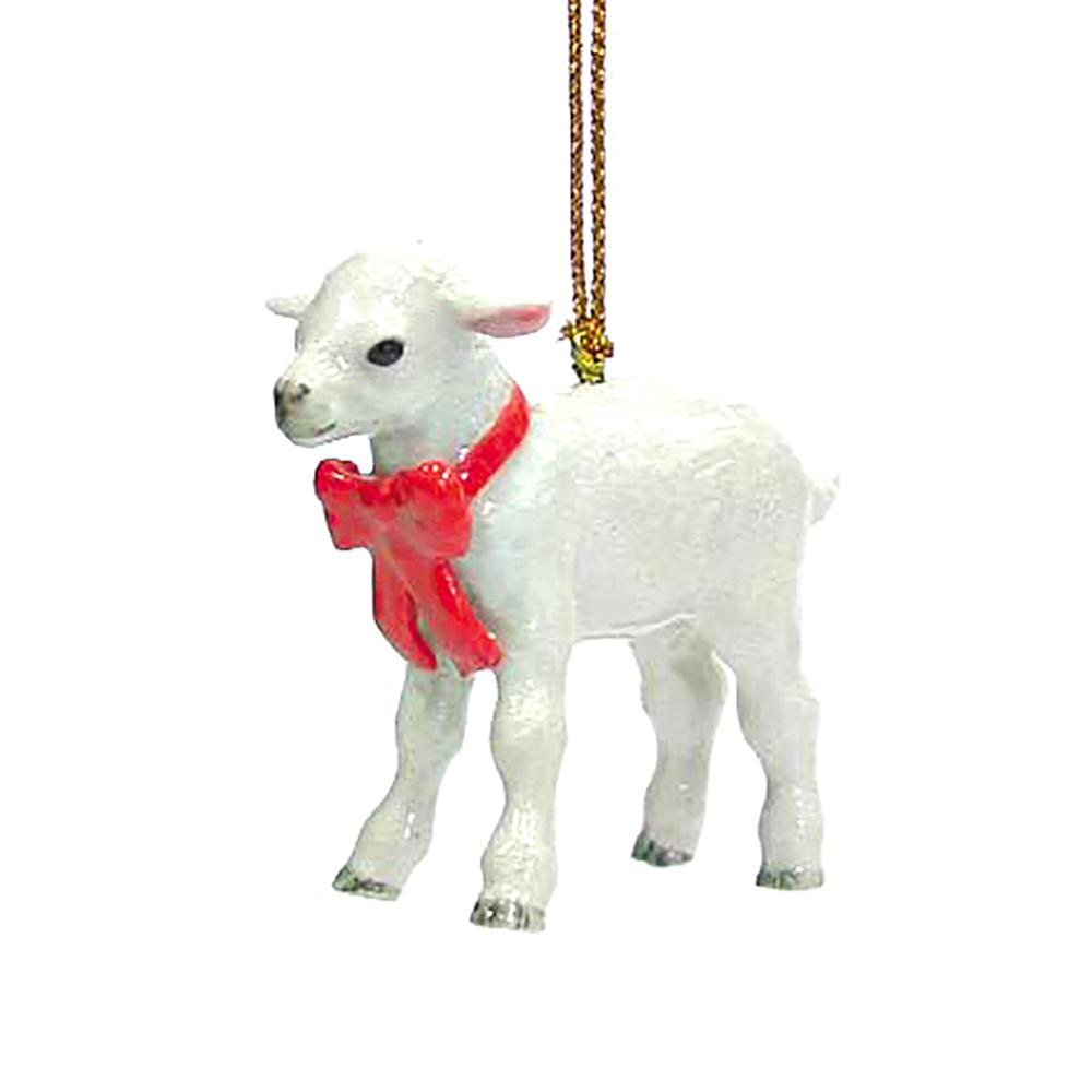 Lamb Ornament - Porcelain Animal FIgurines - Northern Rose, Little Critterz